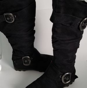 Black Maurices Boots